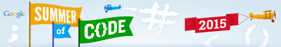 Google Summer of Code 2015 banner